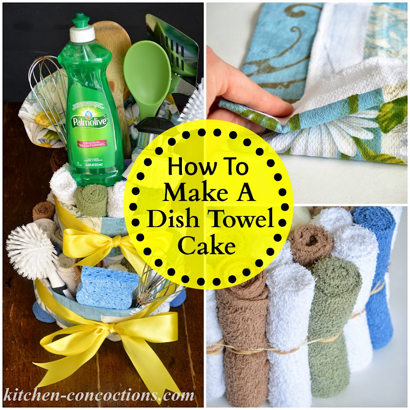 Kitchen Concoctions Creative Soap Ideas Dish Towel Cake Step By Step Tutor