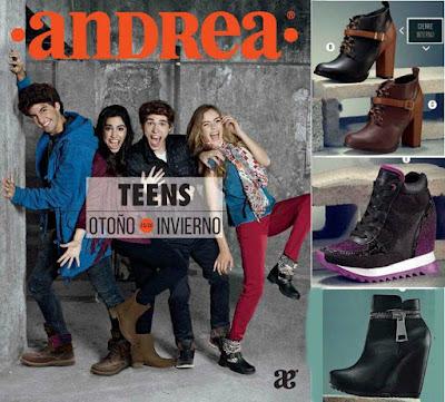 Catalogo Calzado Andrea Teens OI-2015