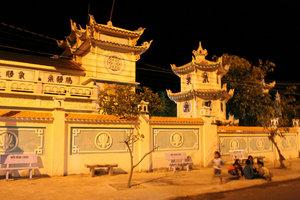 A pagoda on the island