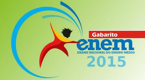 Gabarito Enem 2015