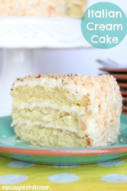 Eat Cake For Dinner: Billie's Italian Cream Cake