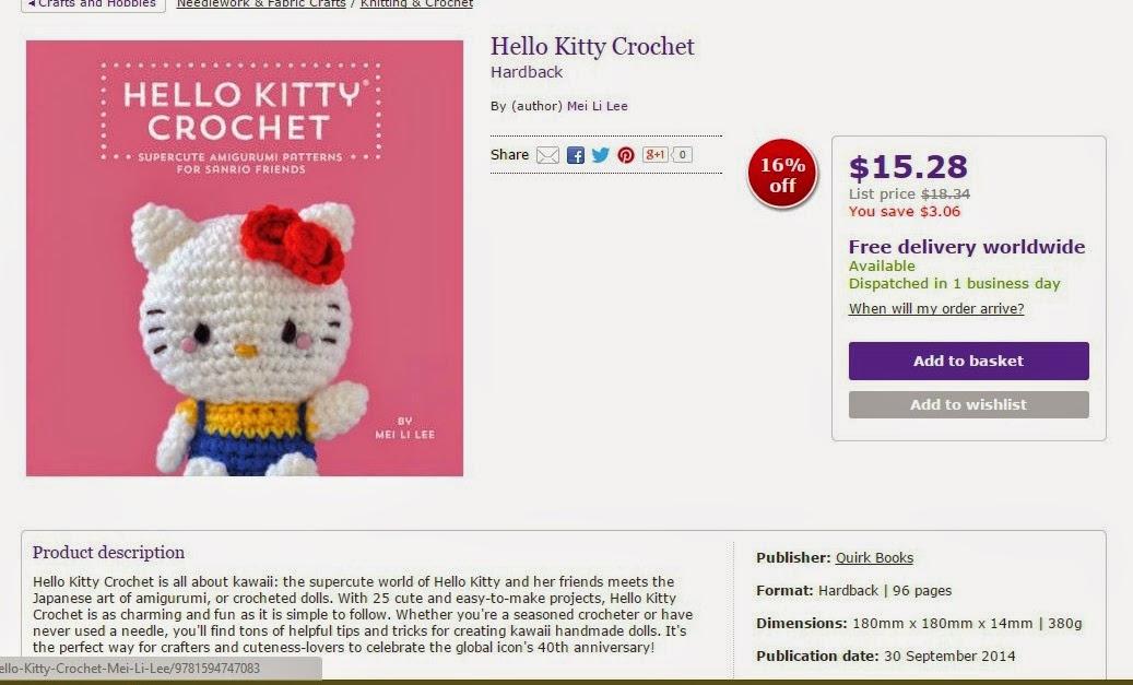 Crochet And Other Stuff Hello Kitty Crochet Amigurumi