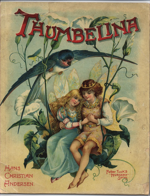 Vintage Thumbelina illustration