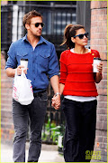 Ryan Gosling & Eva Mendes se tin de mana in New York