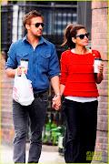 Ryan Gosling & Eva Mendes se tin de mana in New York