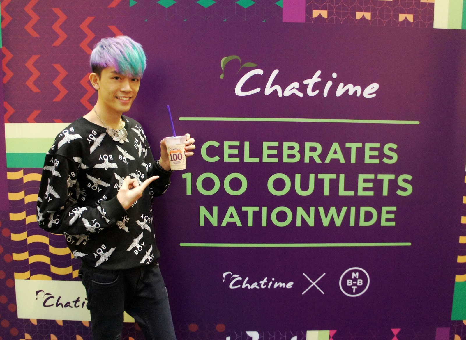 introduction of chatime Chatime needs no introduction, i believe bubble  chatime eat food village  publika solaris dutamas mont kiara nuffnang churpchurp event.