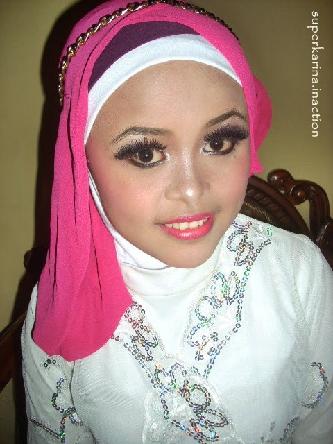 makeup TUTORIAL MAKEUP HIJAB wisuda MAKEUP tutorial  MAKEUP TURBAN #1 natural WISUDA NATURAL TUTORIAL