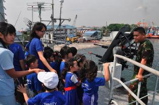 KOLINLAMIL Pupuk Kecintaan Terhadap Maritim Sejak Dini