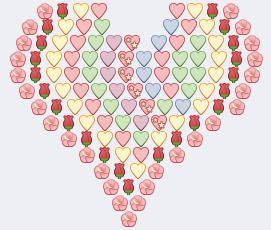 Colorful Emoji Heart