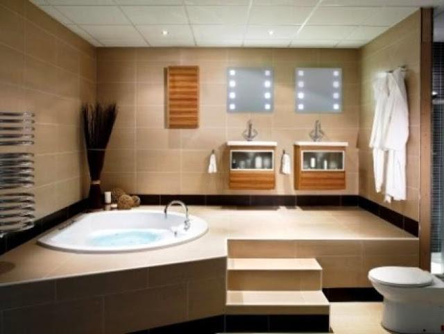 5 صور تصاميم و نماذج حمامات حديثة