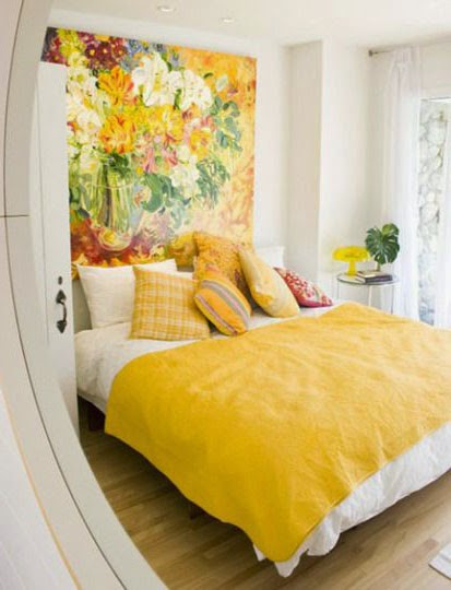 30 inspirations d co pour la chambre blog d co mydecolab for Chambre jaune moutarde