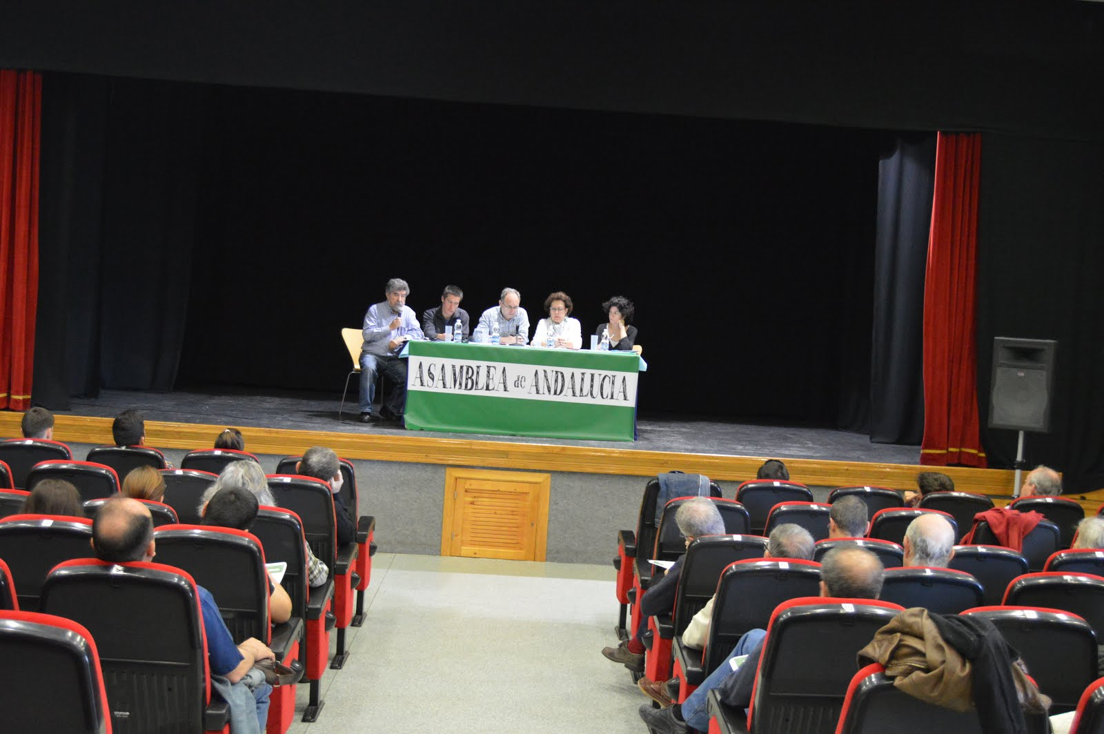 III Asamblea Nacional de Asamblea de Andalucía.