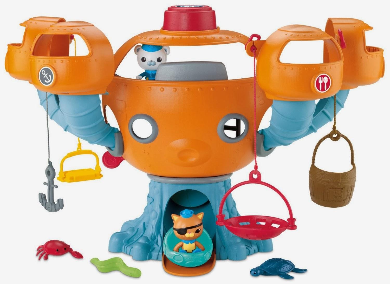 Best Octonauts Toys Kids : Fisher price octonauts octopod playset best christmas toys