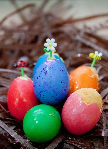 ... Reviews And Travel: {Photo Friday} Easter Cupcake Baked In Egg Shells