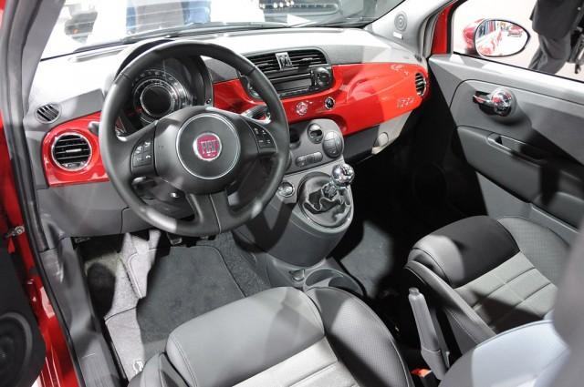 Fiat 500 abarth spare tire