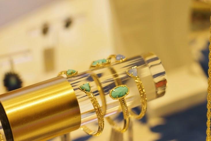 Kendra Scott Elton Bracelet Cuff in Turquoise - Kendra Scott Grady Bracelet in Periwinkle