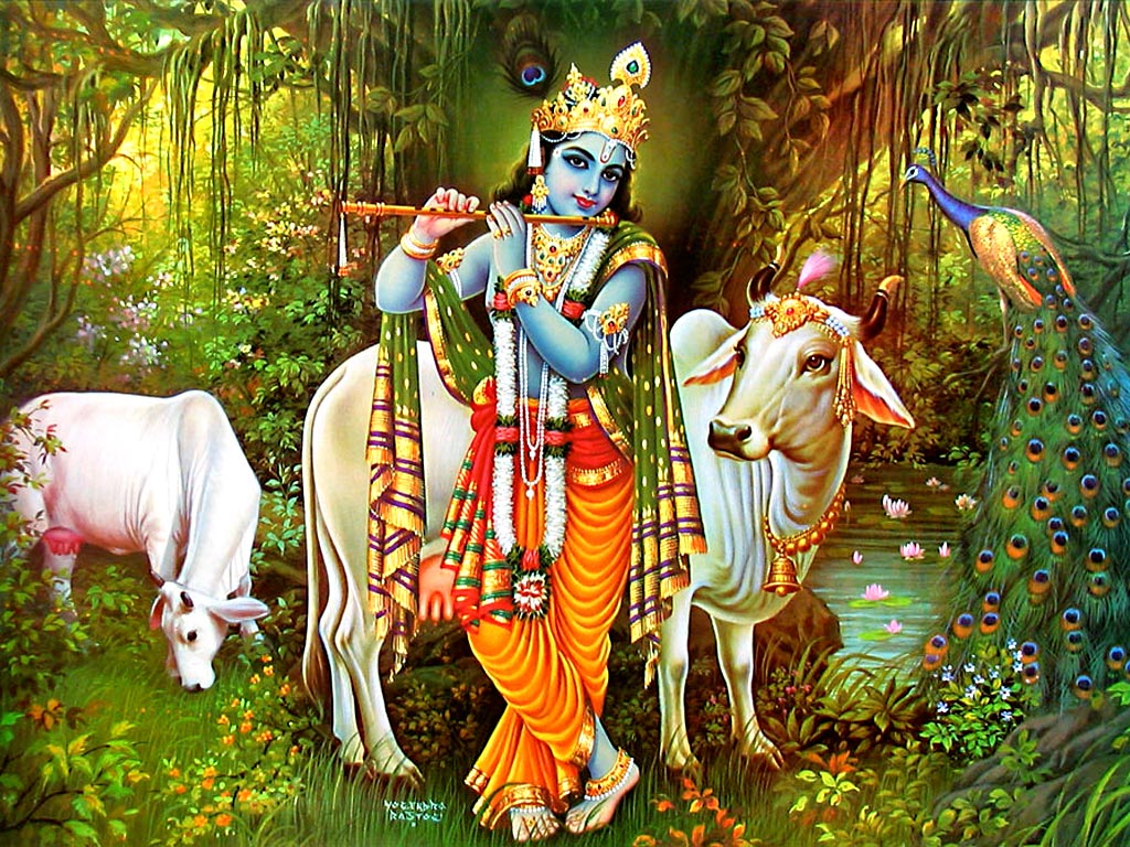 krishna, rama, and their relationship with nature essay And this is particularly prominent in the case of the life and teachings of the two  central figures of these world religions, christ and krishna.