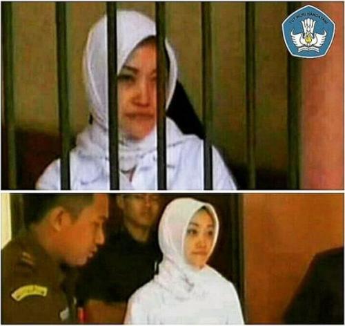 Guru SMP mendekam dipenjara gara-gara mencubit muridnya