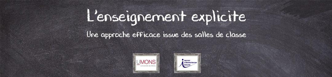 Site de l'enseignement explicite des collègues belges