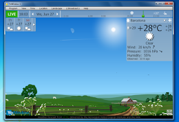 Program starea vremii desktop