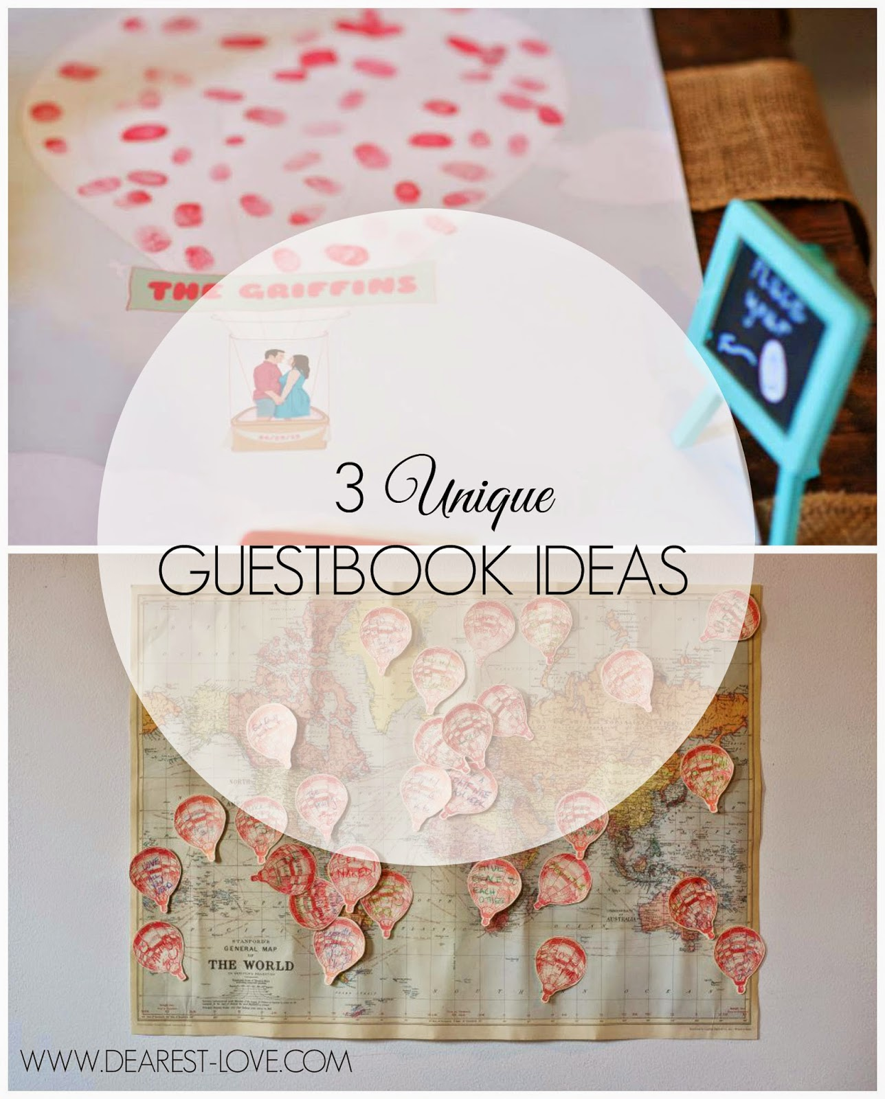 Our wedding 3 unique guestbook ideas gold and bloom im so glad i chose to do all three because i absolutely love them and they are all now a sweet part of our home i love that they arent just collecting gumiabroncs Image collections