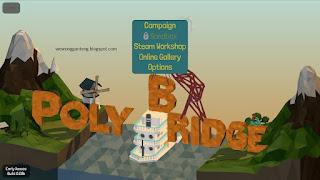 Poly Bridge, Game Membuat Jembatan Grafik Keren.