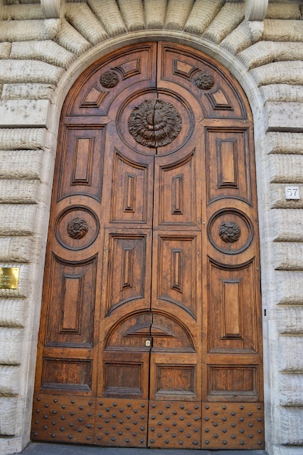 architectural details, architecture, doors, hardware, Italy, My Travels, Rome, travel, old doors