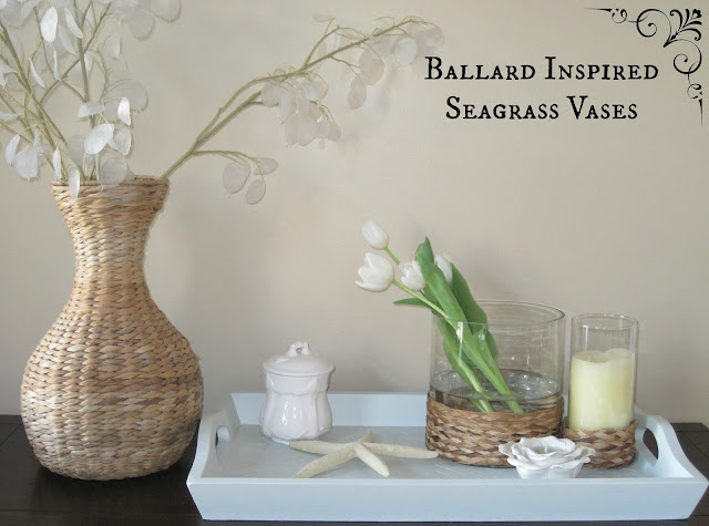 Seagrass Candle Holders