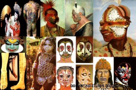 BODY PAINTING HISTORY  BODY ART HISTORY