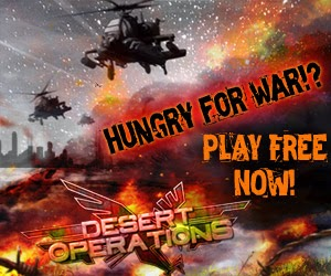 Desert Operations, war browser game