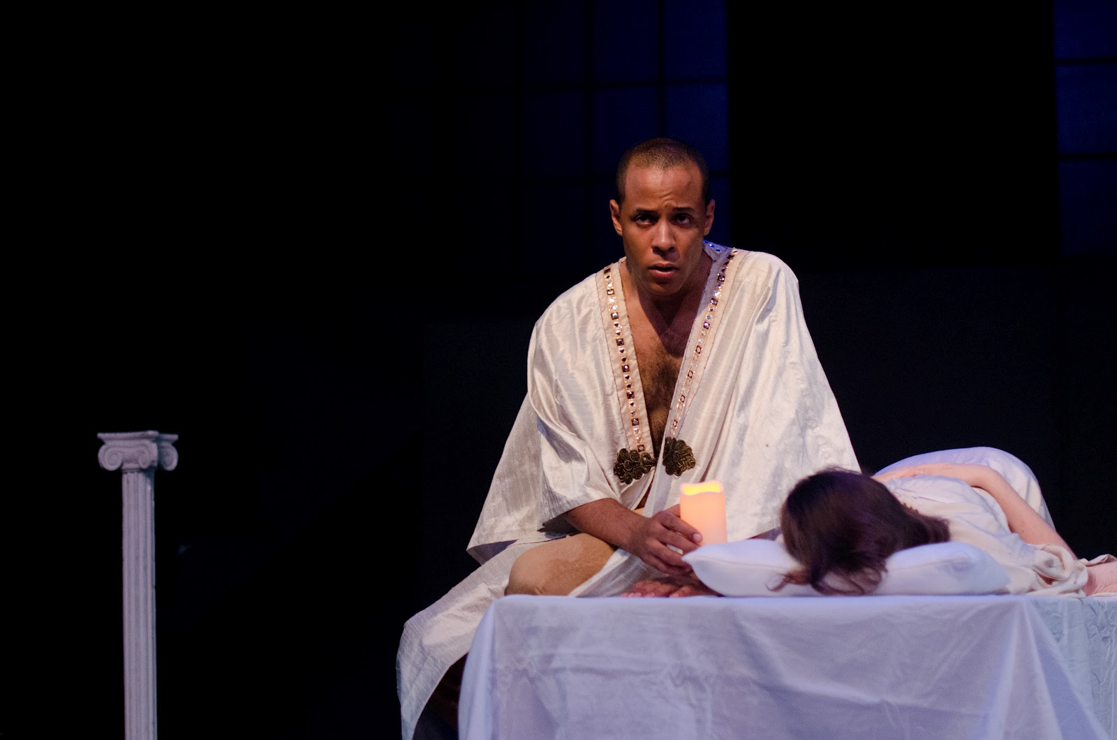 othello is a play about the The bond between othello and desdemona falls weaker and iago uses it to further weaken othello and drive him mad at desdemona in this way, race plays a small but important role in shakespeare's play.