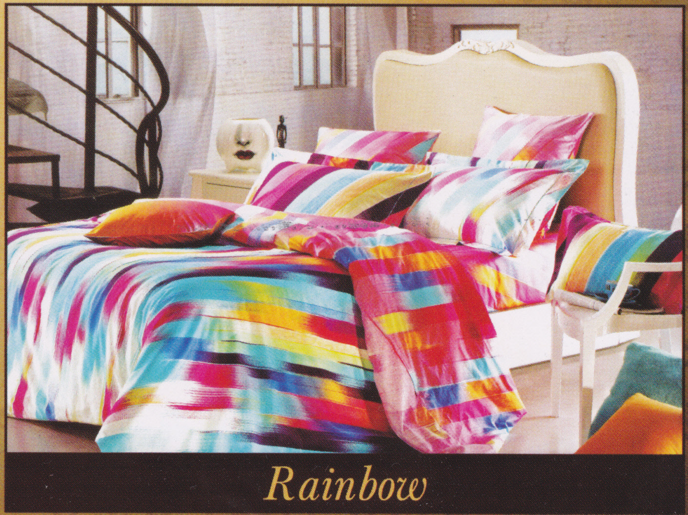 Sprei Grand Shyra Rainbow Toko Online Bed Cover Murah Jual