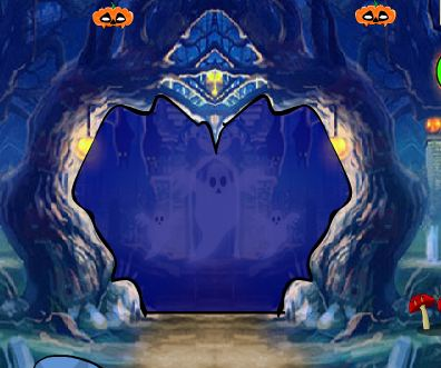 GamesNovel Halloween Ghost Forest Escape Walkthrough
