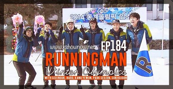 Running Man Episode 184