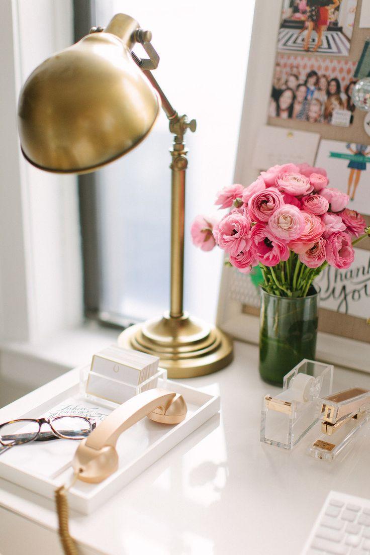 A Stylish Organized Desk Favorite Accessories Driven