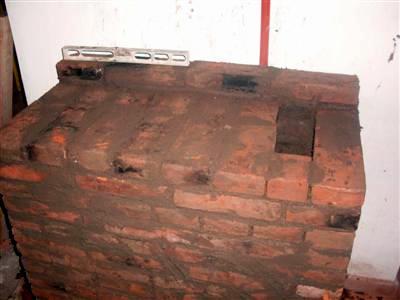 Construcci n de estufas rusas o suecas - Chimeneas de ladrillo refractario ...