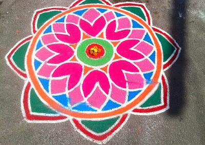 Deepavali Rangoli Designs images download