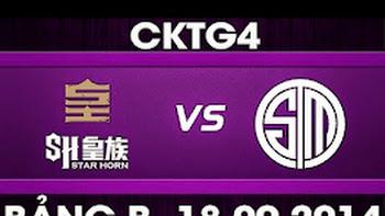 CK Thế Giới 2014 – Bảng B, SHR vs TSM