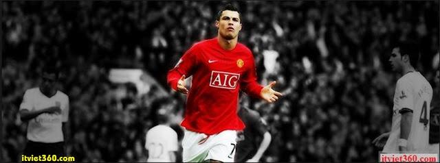 Ảnh bìa Facebook bóng đá - Cover FB Football timeline, cristiano ronaldo CR7
