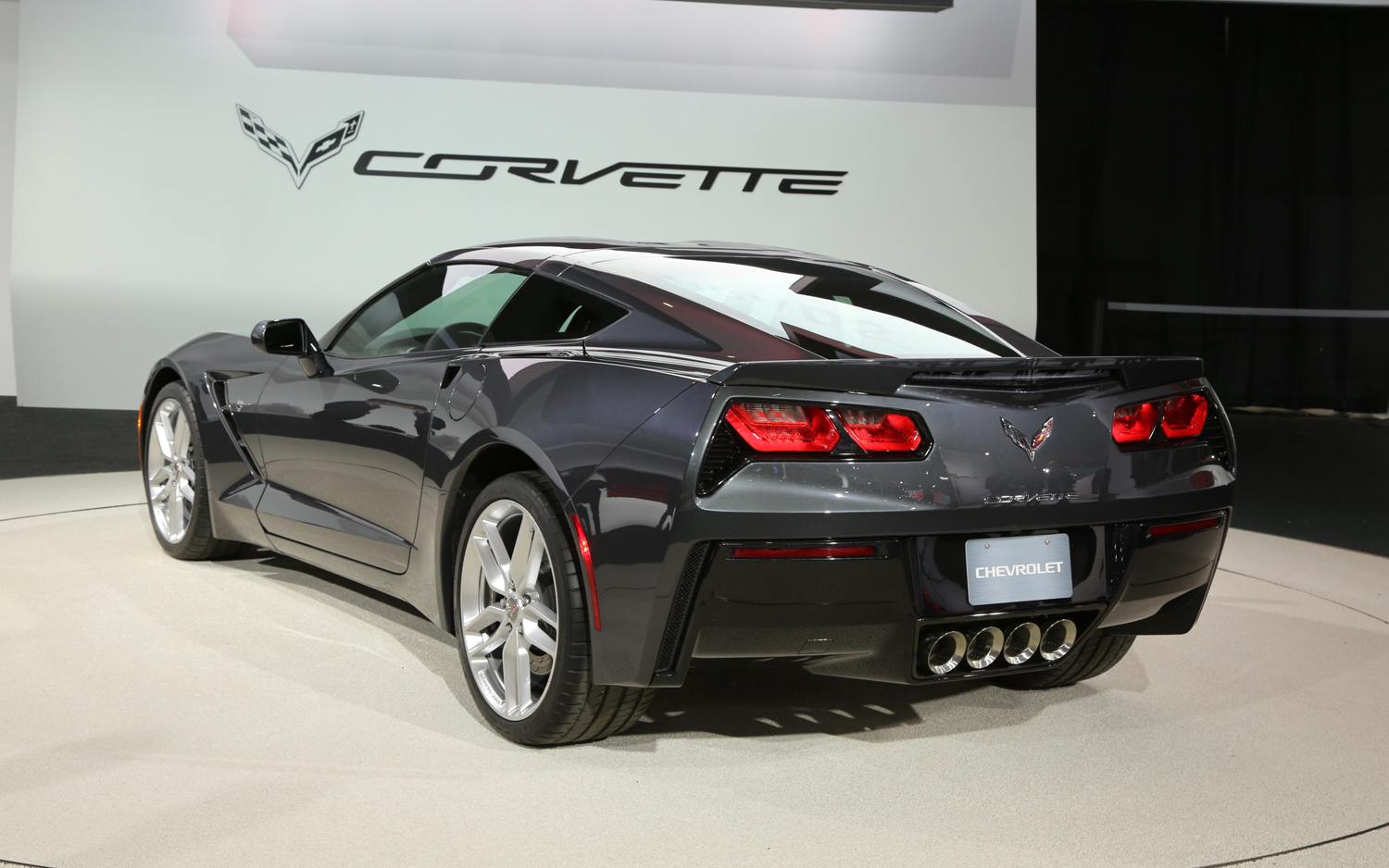 2014 Corvette Stingray Rear