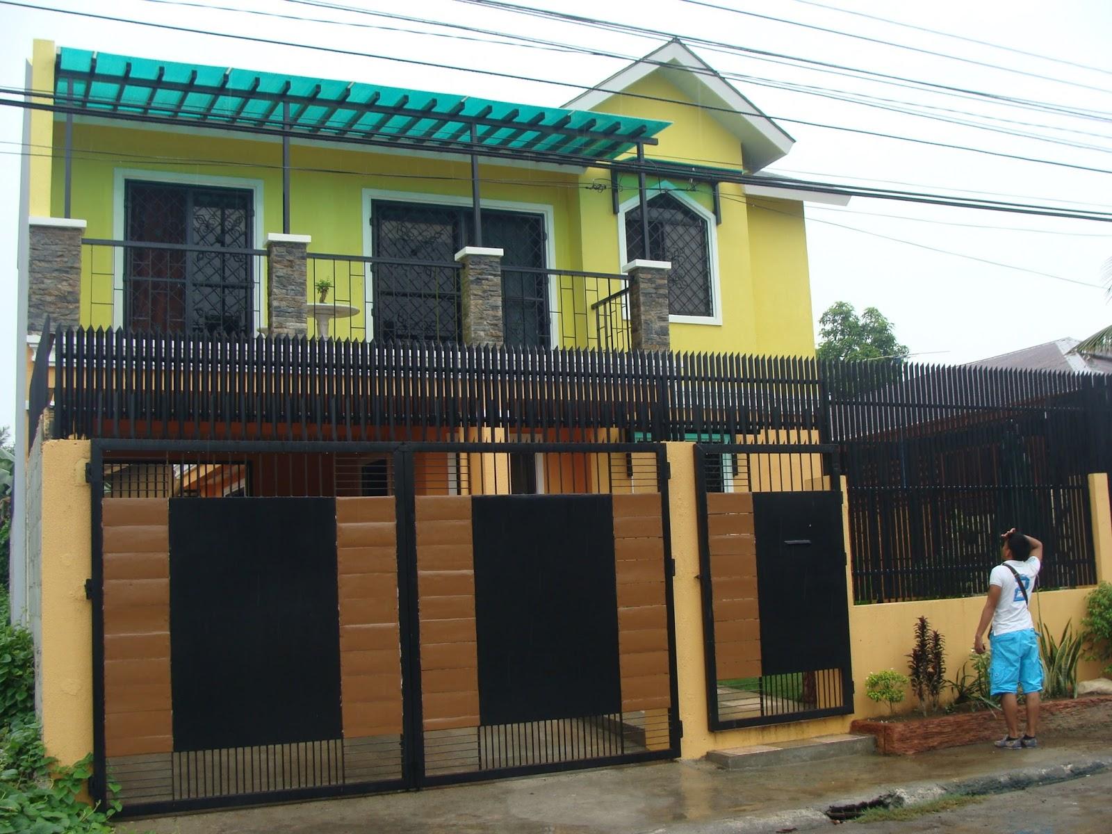 Iloilo two storey house designs philippines iloilo modern house