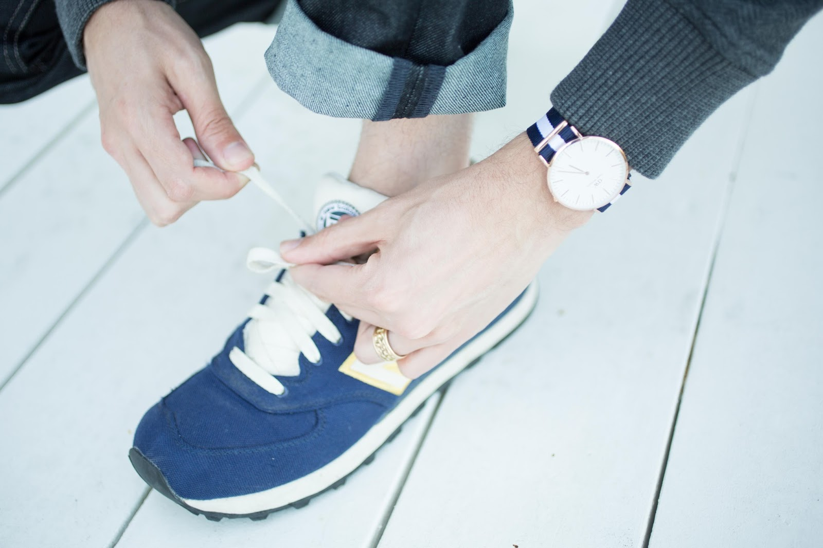 Daniel Wellington and New Balance Shoes