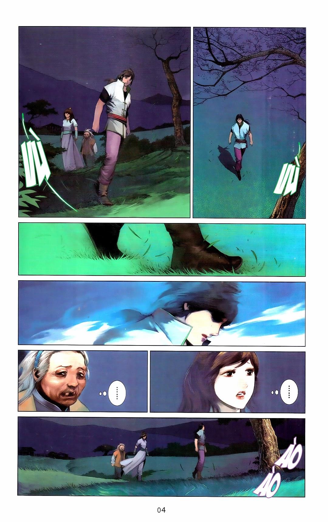Phong Vân chap 666 Trang 4 - Mangak.info