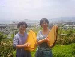 鹿児島県初マリアハープ