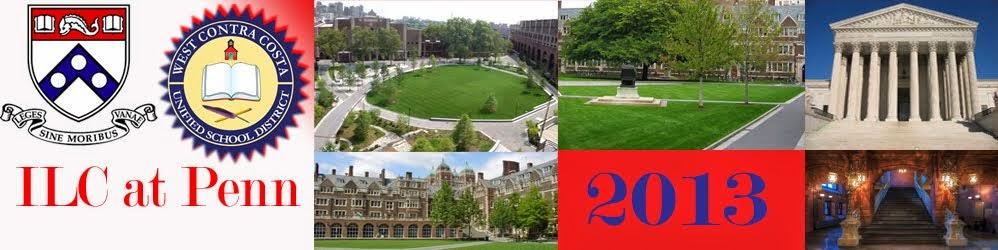 '13 ILC at Penn