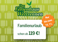 119 Euro Angebot Center Parcs