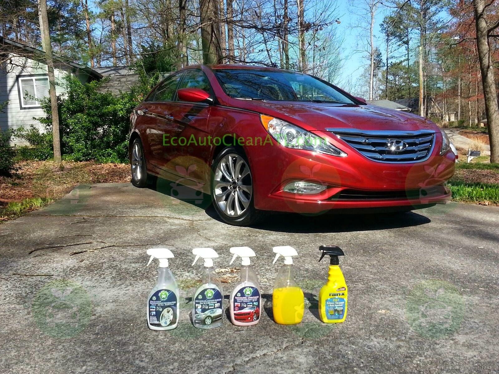 hyudnai waterless car wash eco auto clean atlanta ga