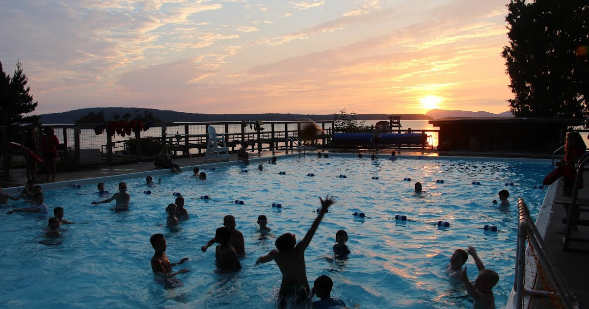 YMCA Camp Orkila: The Blog: The Fun Is Flowing!