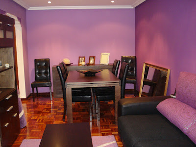 salon color violeta www.lolatorgadecoracion.es