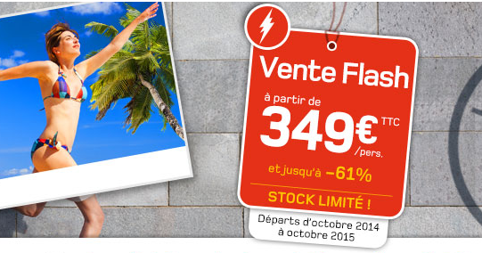 Vente flash martinique r publique dominicaine mexique afrique du sud - Discount vente flash ...